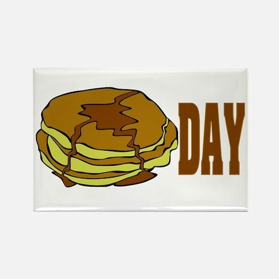 Pancake Day Rectangle Magnet