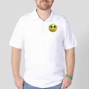 Groucho Smiley Golf Shirt