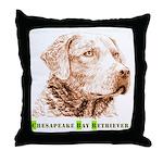 Chesapeake Bay Retriever - Throw Pillow