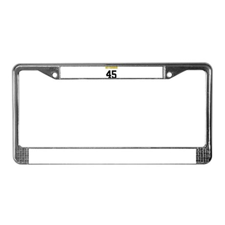 Hittsburgh 45 License Plate Frame