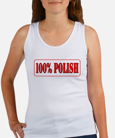 One Hundred Percent Polish Women's Tank Top