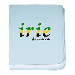 irie Jamaica baby blanket