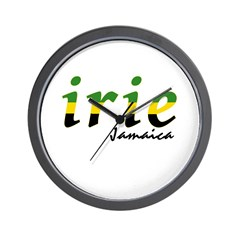 irie Jamaica Wall Clock