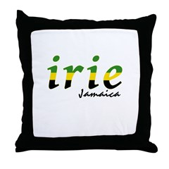 irie Jamaica Throw Pillow
