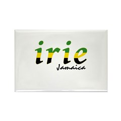irie Jamaica Rectangle Magnet
