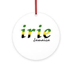 irie Jamaica Ornament (Round)