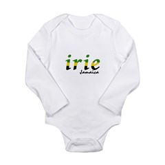 irie Jamaica Long Sleeve Infant Bodysuit