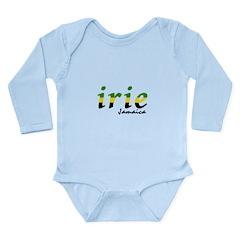 irie Jamaica Long Sleeve Infant Bodysuit