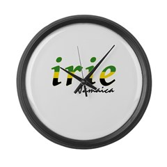 irie Jamaica Large Wall Clock