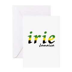 irie Jamaica Greeting Card