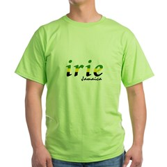 irie Jamaica Green T-Shirt