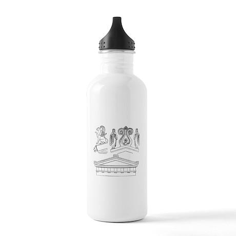 Gil Warzecha - Stainless Water Bottle 1.0L