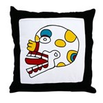 Miquiztli Throw Pillow