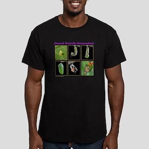 Monarch Metmorphosis Men's Fitted T-Shirt (dark)