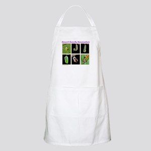 Monarch Metamorphosis BBQ Apron