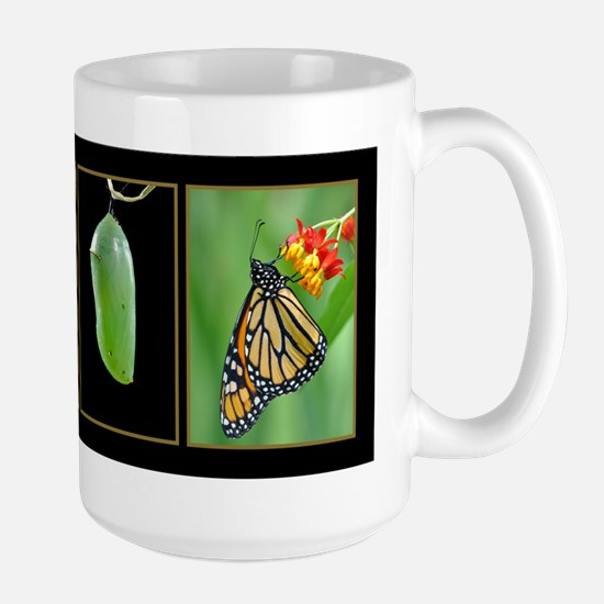 Monarch Metamorphosis Large Mug