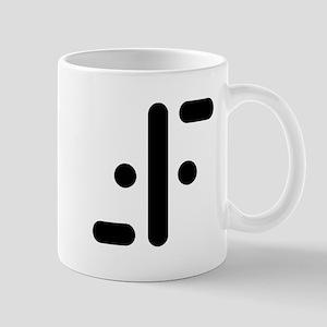 V Symbol Visitors TV Mug