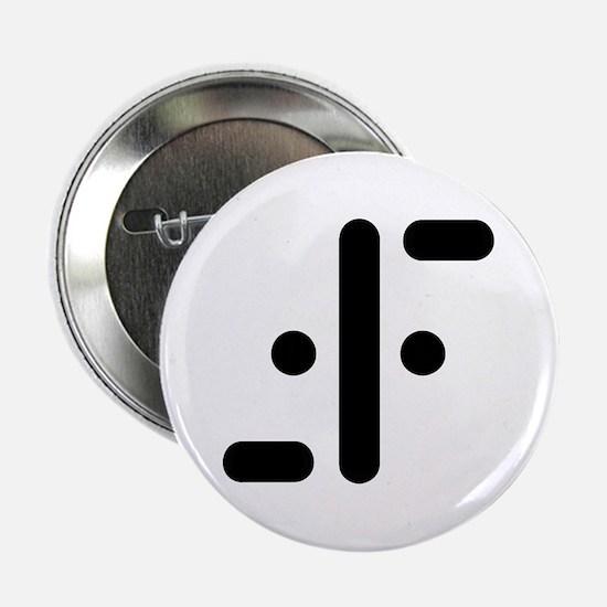 """V Symbol Visitors TV 2.25"""" Button (10 pack)"""