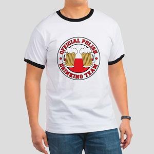Official Polish Drinking Team Ringer T