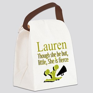 CHEER GIRL Canvas Lunch Bag