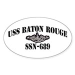 USS BATON ROUGE Sticker (Oval)