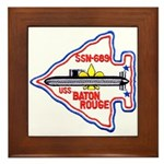 USS BATON ROUGE Framed Tile