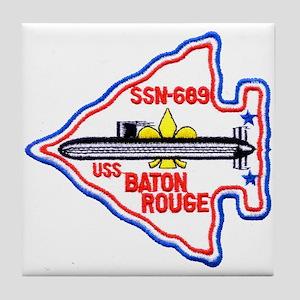 USS BATON ROUGE Tile Coaster