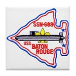 USS BATON ROUGE Tile Coaster