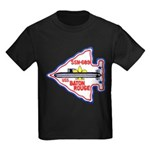 USS BATON ROUGE Kids Dark T-Shirt