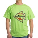 USS BATON ROUGE Green T-Shirt