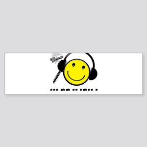 Morse Code - Smile Sticker (Bumper)
