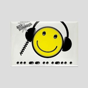Morse Code - Smile Rectangle Magnet
