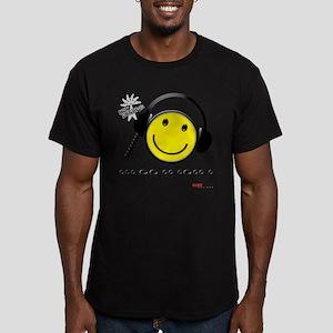 Morse Code - Smile Men's Fitted T-Shirt (dark)