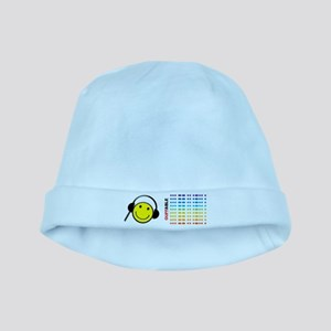 Morse Code - SMILE baby hat