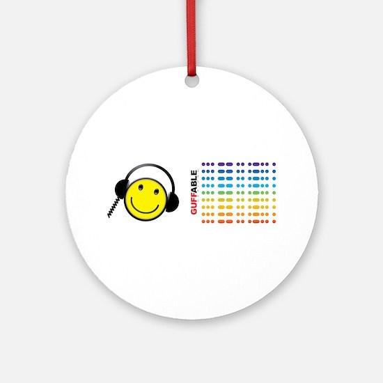 Morse Code - SMILE Ornament (Round)