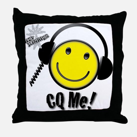 Ham CQ Me! Throw Pillow