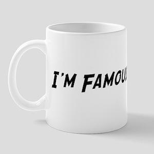Famous in Romania Mug