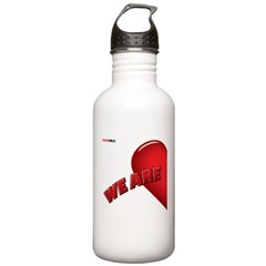 RIGHT SIDE - valentine's day Water Bottle