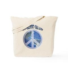 Go Green or Die Tote Bag