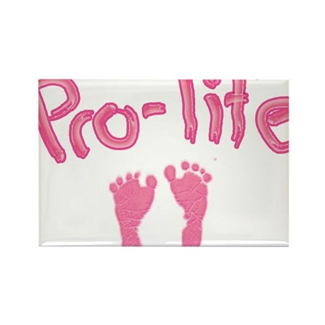 Pro Life _1 Rectangle Magnet (10 pack)