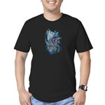 Mythological Warriors Men's Fitted T-Shirt (dark)