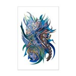 Mythological Warriors Mini Poster Print