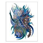Mythological Warriors Small Poster