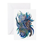 Mythological Warriors Greeting Cards (Pk of 10)