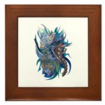 Mythological Warriors Framed Tile