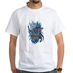 Mythological Warriors White T-Shirt