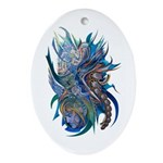 Mythological Warriors Ornament (Oval)