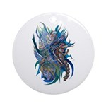 Mythological Warriors Ornament (Round)