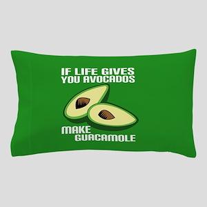 Avocado Humor Pillow Case