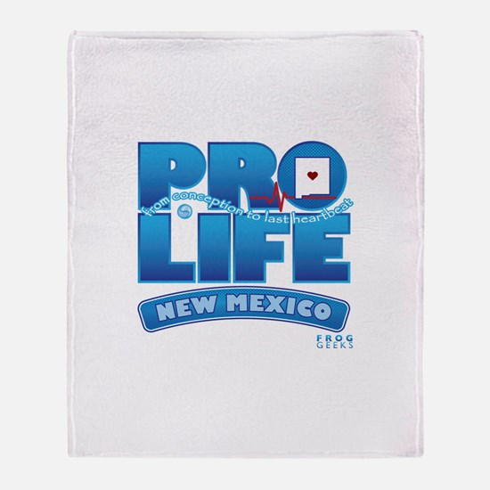 Pro-Life, from conception to Throw Blanket
